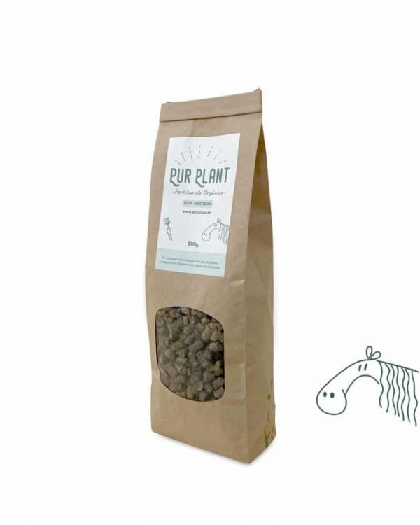 fertilizante organico pellet caballo