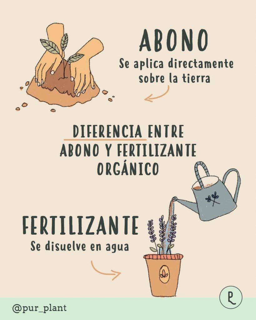 diferencia-abono-fertilizante-organico
